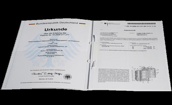 Robolift_Patentschrift_Patenturkunde