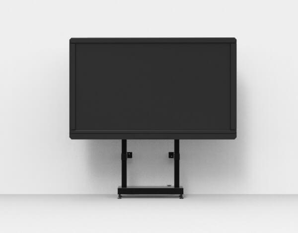 Robolift eStandy 100 - Display-Wandständer-System