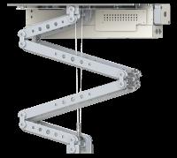 Robolift C150 - Hublänge: 140 cm, Hublast: 32,0 kg Finish: Blechteile weiss/ Aluteile silber