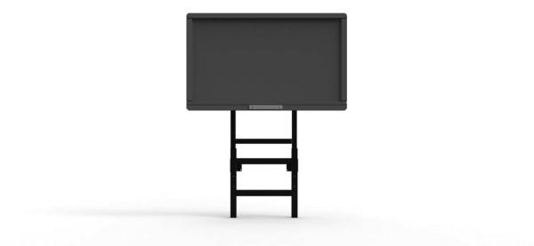 """Robolift mStand PY 2000/100, manuell, höhenverstellbarer Display-Ständer mit Gegengewichten, für digitale Displays bis 86"""" und 100 kg"""