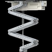 Robolift C200 - Hublänge: 185 cm, Hublast: 30,0 kg Finish: Blechteile weiss/ Aluteile silber