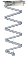 Robolift C450 - Hublänge: 410 cm, Hublast: 20,0 kg Finish: Blechteile weiss/ Aluteile silber