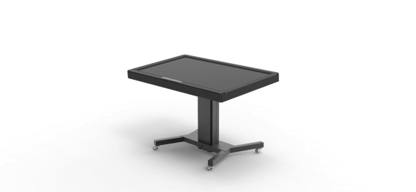 """Robolift eRoll Table 450/85, Schwenk-/ Tisch-Rollwagen für Displays bis 70"""""""